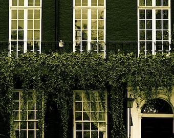 London art gallery print, London photography, A London Facade