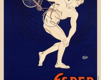 La Bicyclette Esper Poster (#0050) 6 sizes