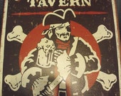 Metal Tavern Sign