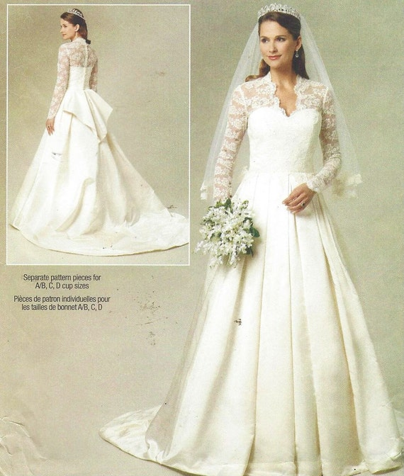 Wedding Dress Bustle: Womens Wedding Gown Optional Train And Bustle DIY Wedding