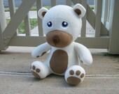 Large White Huggable Teddy Bear