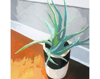 "8x10"" print - still life - ""Aloe"""