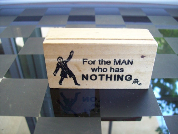 Items similar to mens wood gift box for the man who has for Gift for man who wants nothing