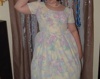 1950s Style Handmade Dress