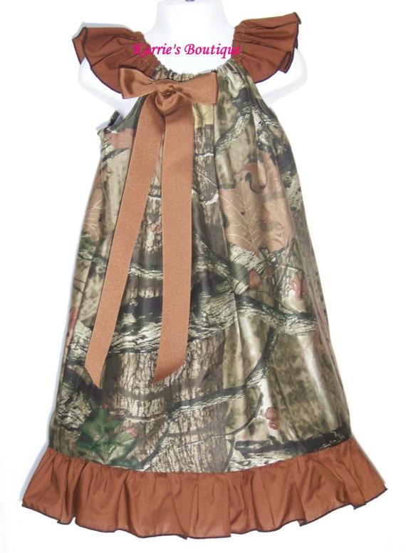 camo ruffle dress brown beautiful mossy oak camo