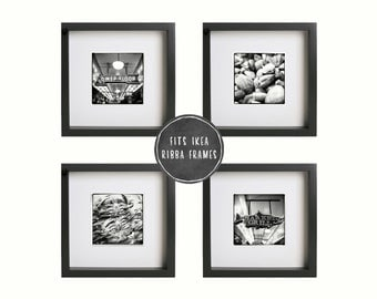 Fit ikea ribba frame etsy for 5x5 frames ikea