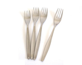 WMF Cromargan Laurel, WMF Atlanta Salad Forks Dinner Fork Stainless Flatware Silverware