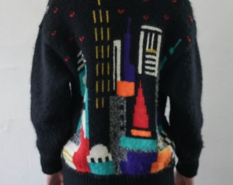 wool skyline sweater - M/L