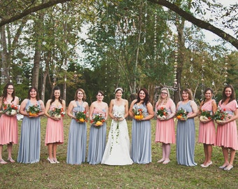 "Bridesmaids Custom ""Infinity"" Dresses"