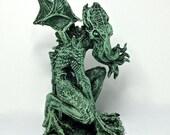 Cthulhu Rising Statue, half scale