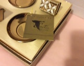 Retro Coffee Table Matches and Ashtray Set 1950's