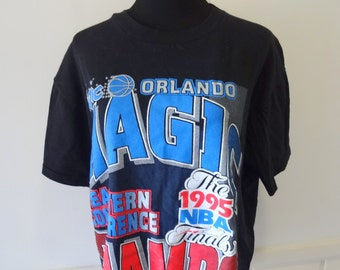 Vintage Orlando Magic Conference Champs T-Shirt 1995