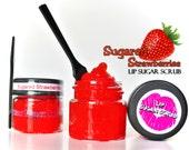 Sugared Strawberries Lip Sugar Scrub