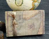 SALE - Old World Map Wrapping Paper, 2 Feet x 10 Feet
