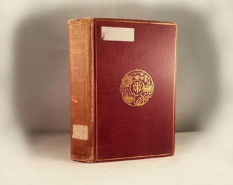 Antique Book Memoirs of Barry Lyndon Esq. Works of William Makepeace Thackeray volume 7 vii 1899 hardcover biography fitz-boodle