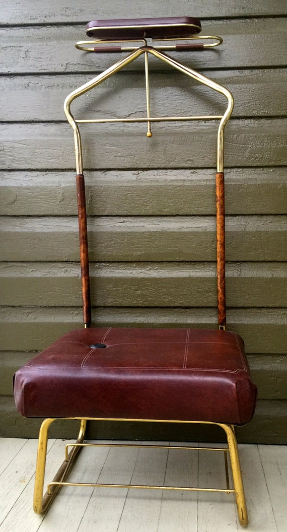 chair valet stand. vintage mens valet butler dressing chair suit stand  brass n - Chair - Antique Valet Chair Antique Furniture