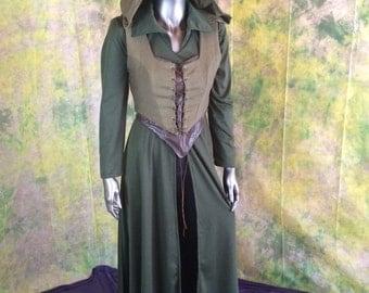 Tauriel Hobbit Cosplay Costume--- Elf Cosplay, Archer, The Hobbit, Full Costume Set--- Custom made