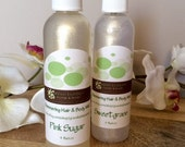 Shimmering Hair and Body Spray, Sweetgrass OR You Choose Scent, 4 oz., Vegan