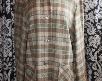 Vintage 1970's Ladies Pendleton Day Jacket;  Item #348-LJ