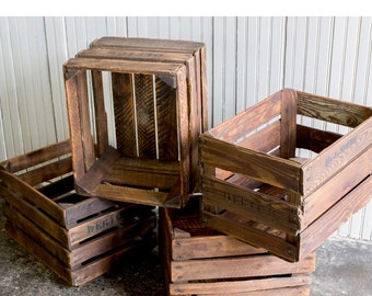 WOOD CRATES -  Vintage wooden fruit-crates from the 1960s-1970s - Home & Living