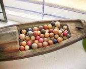 85 Antique Clay Marbles Multi Colored Late 1800s
