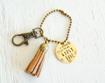 Gypsy Soul Keychain
