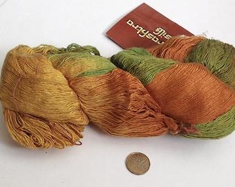 SALE 15% OFF Maharashtra Silk Lace yarn by Euro Yarns  Pure SILK #4 / 100g / 3.52oz