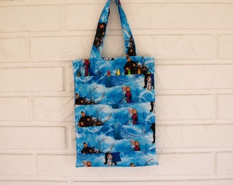 Frozen movie childrens tote bag and crayon holder