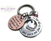 Stamped Jewelry Personalized Jewelry - God Gave Me You The Love Between A Mother And Daughter Is Forever Custom Necklace