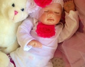 From The Preemie Anna Kit Reborn Baby Girl Nicole Completed Doll with Magnetic Pacifier