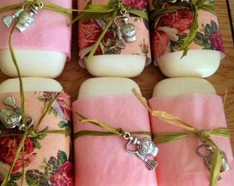 One Dozen Bar Soap Party Favor Soap Bridal or Baby Shower Soap Party Favors