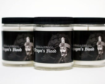 Scented Candle - Dragon's Blood - Vlad - Vampire