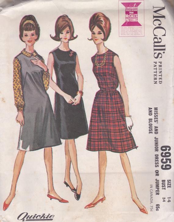 1960 S Blouse Dress 28