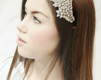 My Perfect Jenny bridal hairpiece - Shimmering hair adornment with crystals