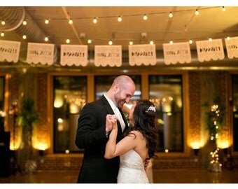 Wedding Papel Picado Banners - Personalized