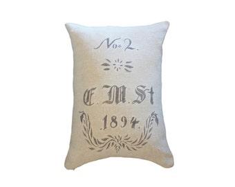 No. 2 1894 Grain Sack Pillow Sham