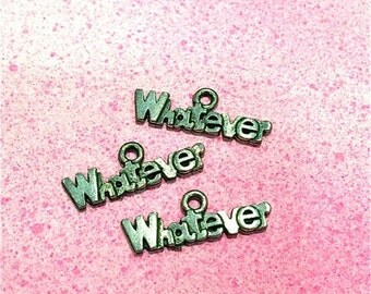 Whatever Word - 3 pieces-(Antique Pewter Silver Finish)