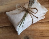 Natural Cotton Sachets With Dried Lavender-Wedding & Party Favor-Rustic/Natural/Country/Folk-Engagement/Bridal Shower-Garden Wedding
