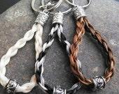 Loop Horse Hair Key Chain