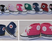 Sale- Baby crochet Tennis Shoes for Boys and Girls