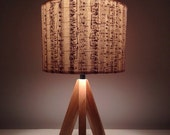 Music Stripes : Vintage songbook lamp shades or pendants -  Upcycled Repurposed charm.