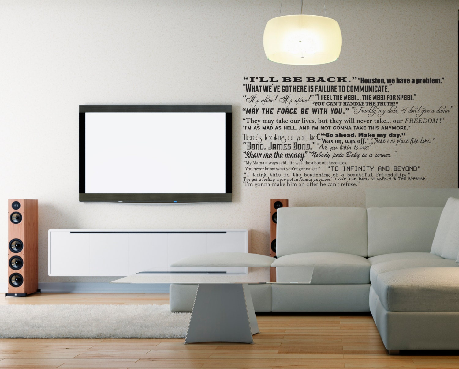 Famous Movie Quotes Wall Quotes Decal Collection Classic - Custom vinyl decals houston
