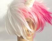 Little Unicorn Horn Hair Clip for fantasy fancy dress, cosplay, animal costume white hair accessory