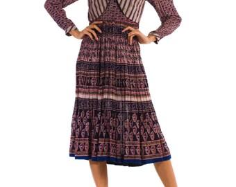 1970s Vintage Catroux Dress  Size: XS