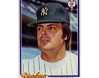 1978 Lou Piniella Topps Baseball Card