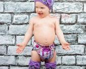 PDF Crochet Pattern Wavy Ribbed Hat & Leg Warmer set. Baby Child Adult sizes