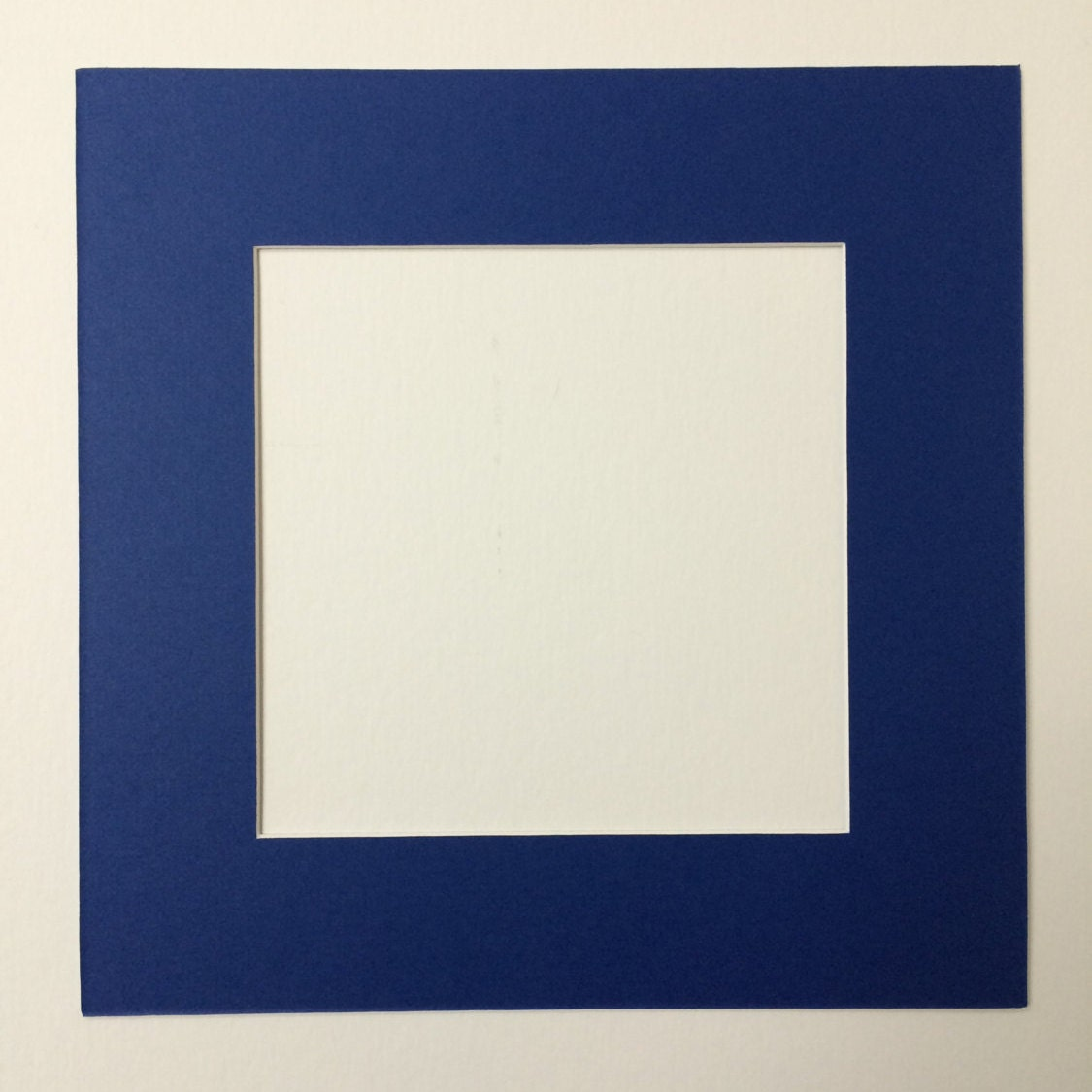 Pack Of 6 12x12 Square Royal Blue Picture Mats With