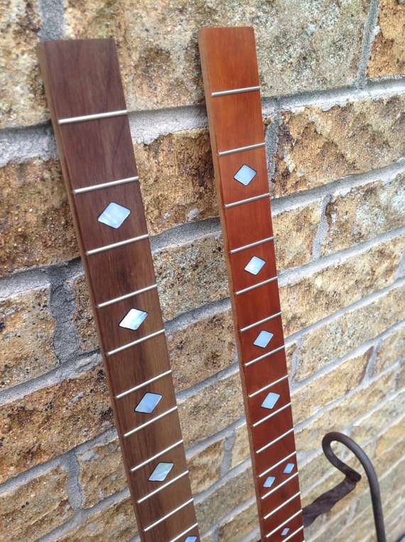 one cigar box guitar fretboard fretted by mrwizardsinlay on etsy. Black Bedroom Furniture Sets. Home Design Ideas