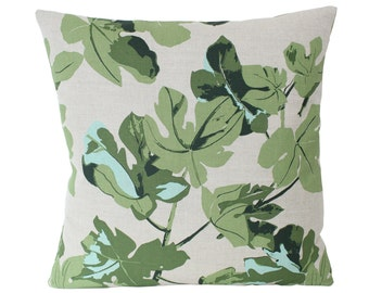Peter Dunham Fig Leaf Pillow