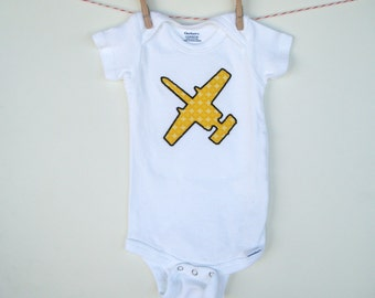 Air Force A-10 Airplane Custom Applique Onesie
